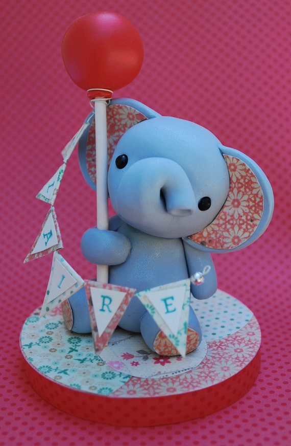 wedding cake toppers etsy items similar to baby elephant cake topper on etsy 8824