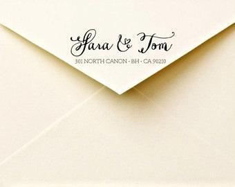 Calligraphy return address labels - printable address labels - calligraphy  - custom envelope labels