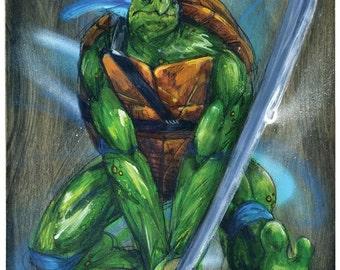 Leonardo - Teenage Mutant Ninja Turtles Art Print