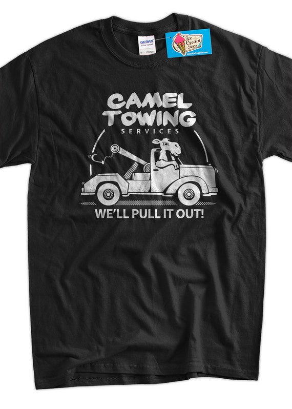 funny camel t shirt gifts for guys camel towing t shirt gifts. Black Bedroom Furniture Sets. Home Design Ideas