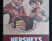 Vintage Hershey's 1934 Chocolate Cookbook Revised Edition Published in 1970s