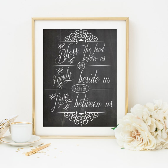 Bible Quotes For The Kitchen: Items Similar To Kitchen Printable Bible Verse Art