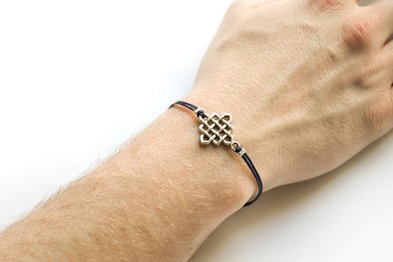 infinity armband f r m nner herren armband mit einem. Black Bedroom Furniture Sets. Home Design Ideas