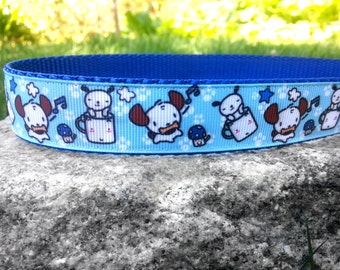 Puppies In A Cup 1 Inch Width Dog Collar