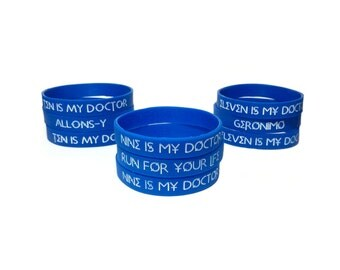 Doctor Who Silicone Bracelet