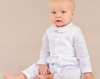 Alexander Christening Baptism or Blessing Outfit for Baby Boys