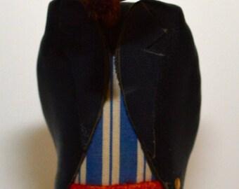 Vintage Frank Meisler Hasid Figure -  Israel