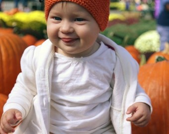 POM POM knitting pattern - ALL sizes  -newborn, baby, child, adult halloween