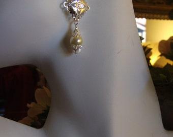 Pearl chandelier earrings  0620EA