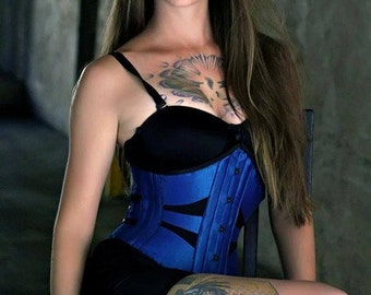 The Mona Cincher Corset by Sin & Satin Corsetry