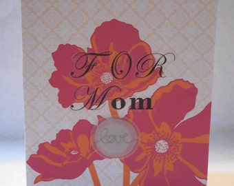 For Mom - Love - Mother's Day Card