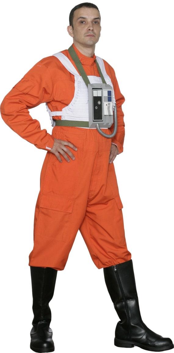 star wars x wing pilot costume jumpsuit. Black Bedroom Furniture Sets. Home Design Ideas