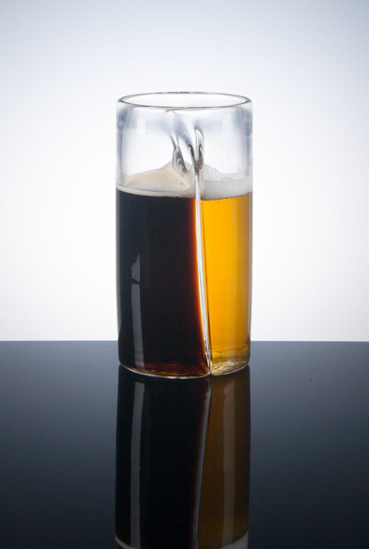 Handmade Dual Beer Glass