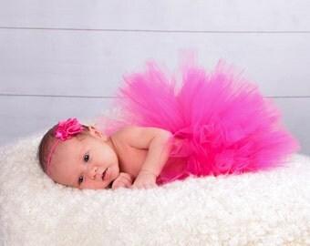 Fuchsia Tutu Hot Pink Tutu Birthday Tutu Baby Tutu Photo Prop BabyAdult Tutus