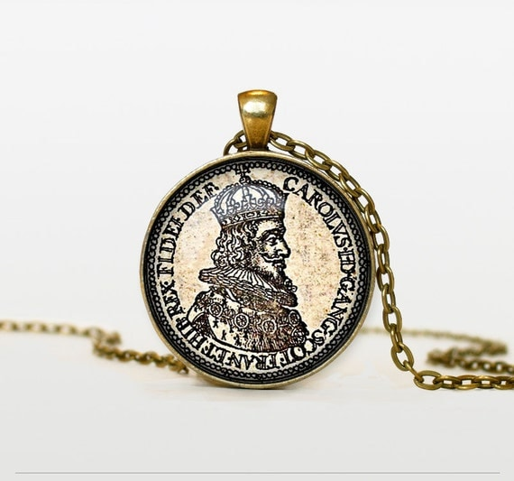old coin pendant vintage coin necklace old coin jewelry