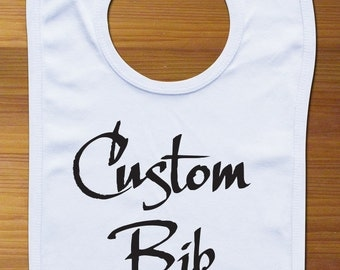 Personalized Custom Bib Baby Cloth