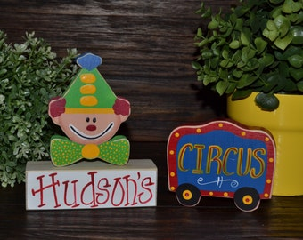 Circus Party Decor Carnival Party Decoration Carnival nursery decor Under the Big Top Happy Clown decor home theater decor Circus Train