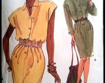 Vogue 8075  Misses' Dress Size (6-8-10)  UNCUT