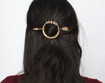 Artemis hair pin