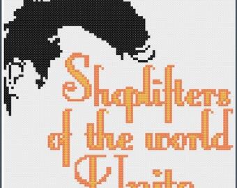 Shoplifters Unite PDF Cross Stitch Pattern