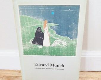 Edvard Munch Exhibition Catalogue Signed