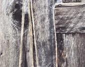 Chevron Design Black and White Carved Hanging Planter // Succulent Planter