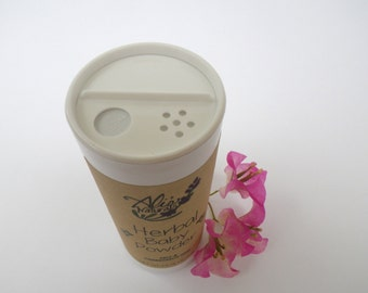 Herbal Baby Powder All Natural Organic Talc & Cornstarch Free // New Mom Baby Shower Gift Under 15 // Chamomile + Lavender