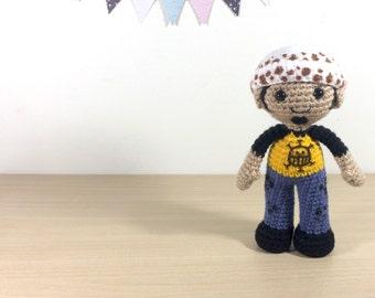 Monkey D Luffy Amigurumi Crochet Plush Doll by 53Stitches ...