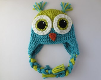 Crochet Owl Hat, Baby Owl Hat, Owl Crochet Hat, Crochet Hat Owl, Child Owl Hat, Owl Hat for Toddlers, Adult Owl Hat, Owl Hat for Baby