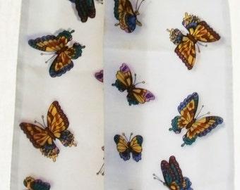 Butterfly Neck scarve 1950s