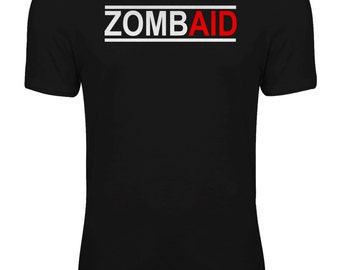 Shaun of the Dead Zombie Movie - ZombAid Womens T-shirt