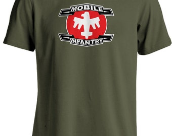 Starship Troopers Movie - Mobile Infantry Sci-Fi T-shirt