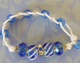 St James I Golf Counter Bracelet - Blue