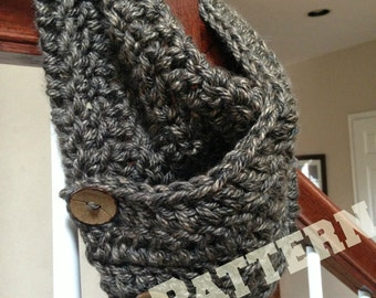 Pattern for Chunky Crochet Cowl