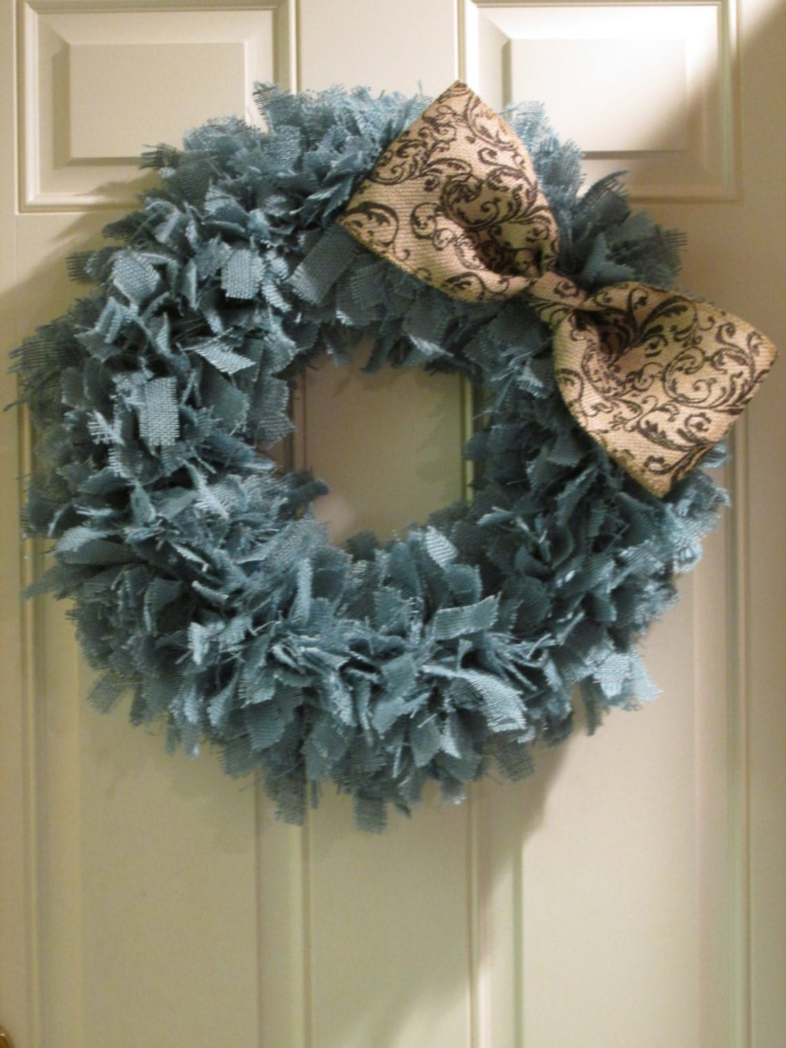 burlap wedding decorations for sale turquoise burlap wreath front door by 2147