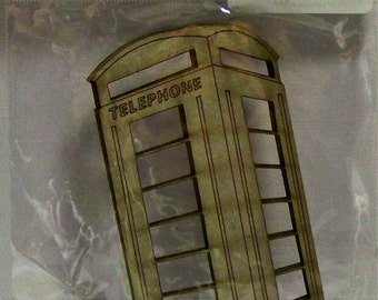 Telephone Booth by FabScraps...