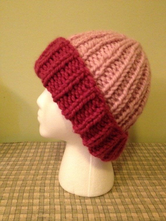 PATTERN: Quick and Easy Chunky Knit Hat