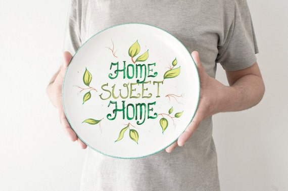 Plate For Home Decor Home Sweet Home Hanging