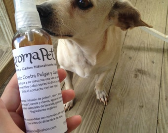 Natural Flea and Tick Repellent for Cats and Dogs