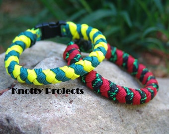 Round Braid paracord bracelets