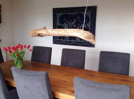 lampe de bureau led tronc d 39 arbre lampe de plafond par gbhnatureart. Black Bedroom Furniture Sets. Home Design Ideas