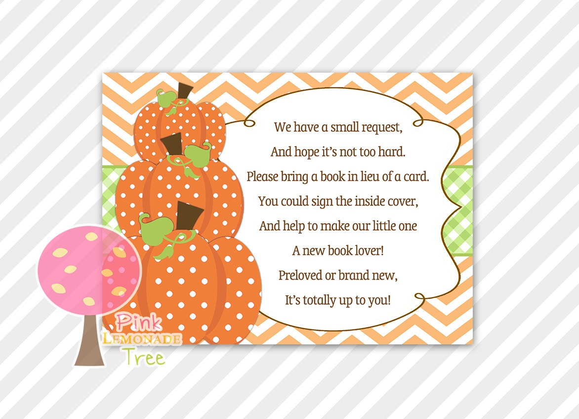 Lovely In Lieu Of A Card Bring A Book Baby Shower Part - 12: ?zoom