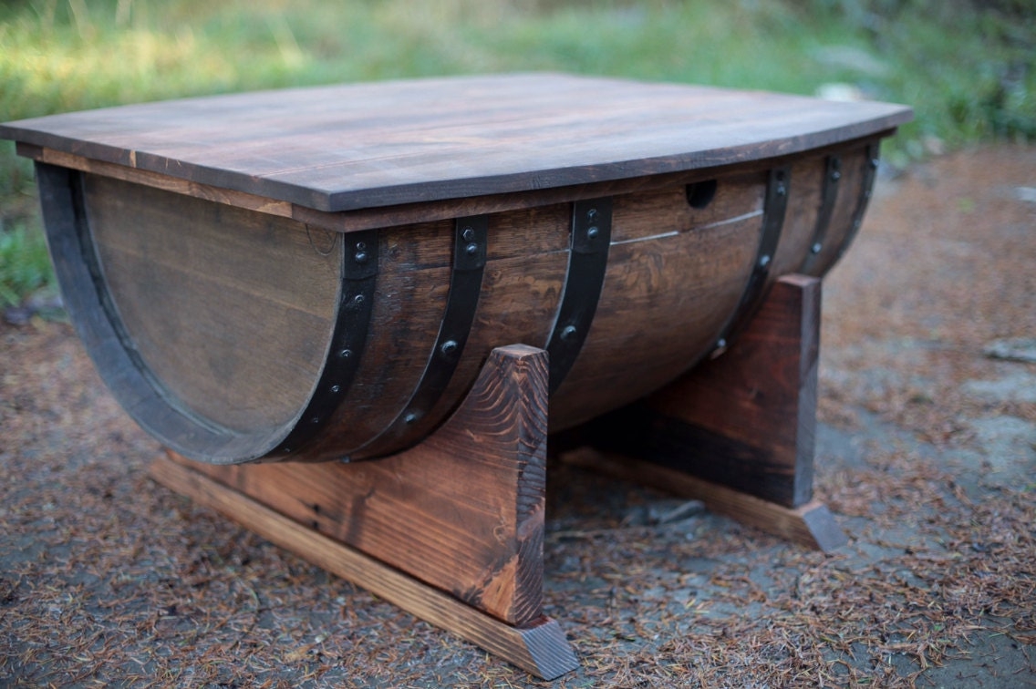 Willamette Barrel Coffee Table
