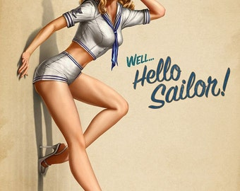 1950's Vintage Pin-Up Girl Poster 20