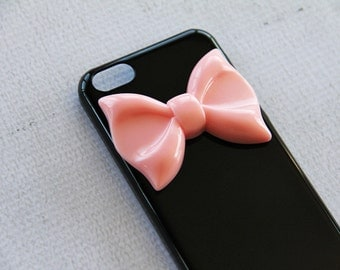 iPhone 5c Bow Case iPhone 5c Ribbon Case 5c Black Phone Case Smartphone Cover iPhone 6s Plus Ribbon iPhone5c Pink Large Bow iPhone 6s Bow