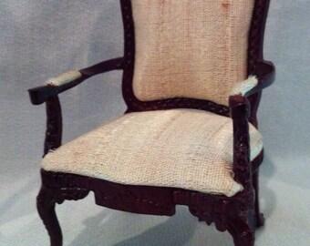 MARKED DOWN!!  BESPAQ Fine Miniatures  - Georgian Period Chair