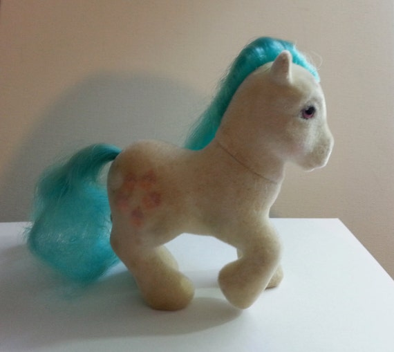 Squishy Toys From The 80s : My Little Pony So Soft Cupcake Vintage 1980s by VintageToyNerd