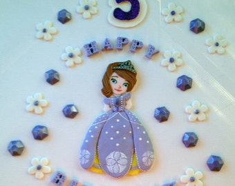 Sophia The First Inspired Cake Decorations