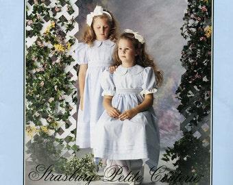 Strasbourg Petite Couterie ange fils par Sonia Aust Isabella robe Couture PatternSize 6-14 non-coupe