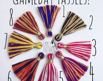 Gameday Tassel Bracelets